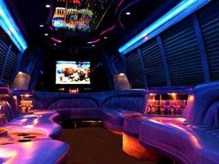 18 passenger party bus rental Memphis
