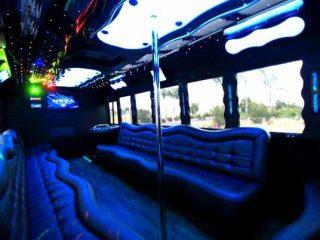 40 people party bus Memphis