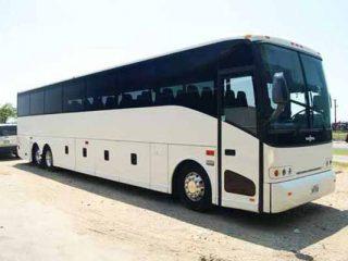 50 passenger charter bus Memphis