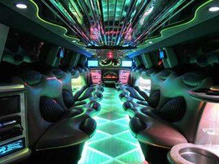 Hummer limo interior Memphis